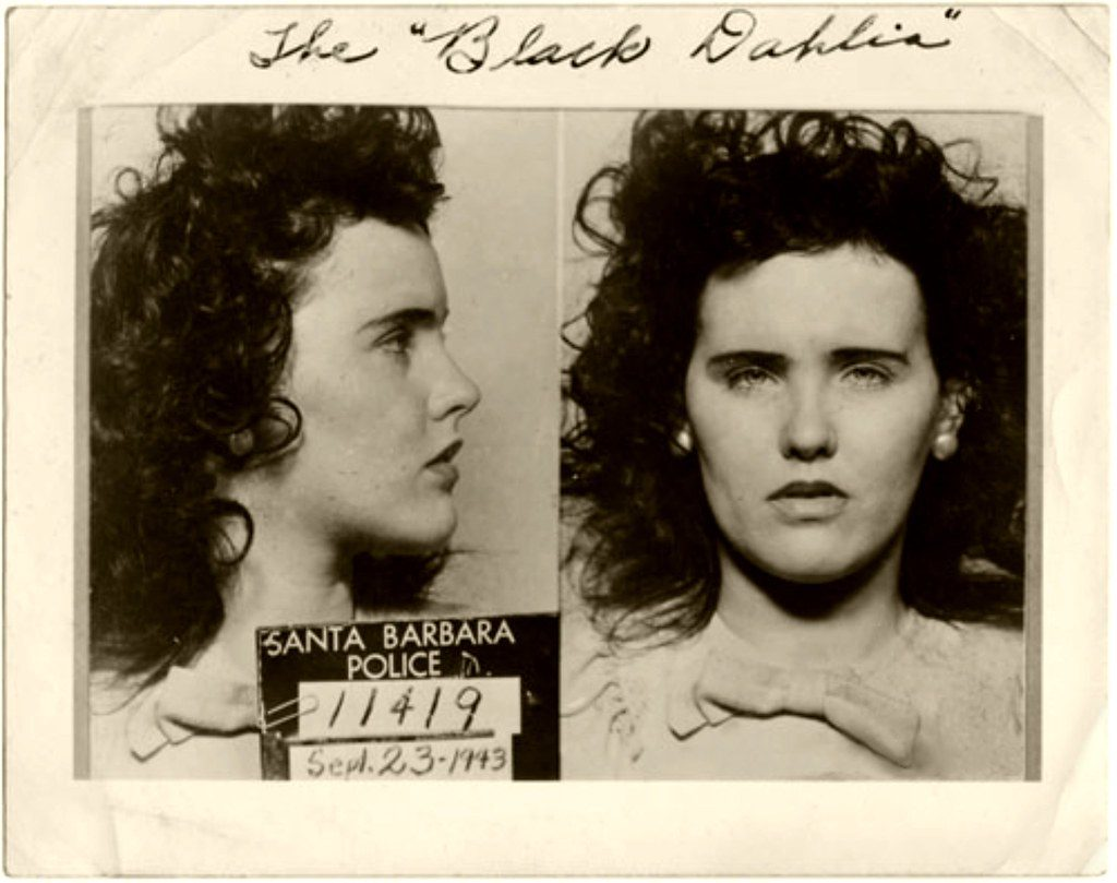 photo is that of Elizabeth Short, also known as The Black Dahlia