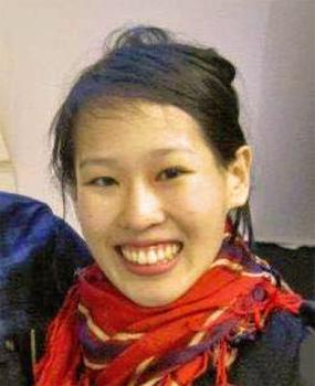 photo is a headshot of Elisa Lam smiling