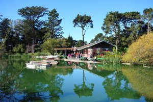 Stow Lake At Golden Gate Park - Photo