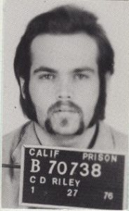 Photo shows the mugshot of Chuck Riley.